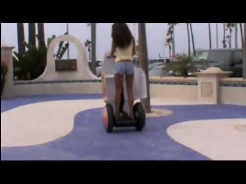 Tecate Segway Advertising Chariot Shield on the Beach