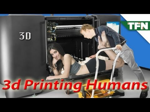 3D - We've talked about 3D printing homes, hamburgers, and even guns. But this is a whole new level of crazy! Scott explains how human body parts are being 3D pri...