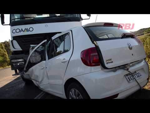 Acidente grave na PRc 280 em Palmas deixa um morto