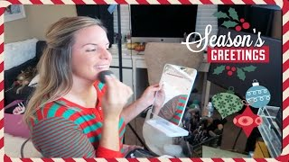 WE WERE LIVE! Vlogmas Day 13 | Casey Holmes
