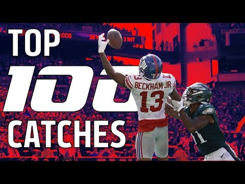 Top 100 Catches of the 2017 Season!  NFL Highlights