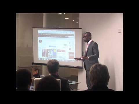 Social Media Expert Oyetola Oyewumi (C.O.B.S Group) explains How to Use Social Media