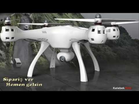 Drone ✔️ Anlık görüntü aktarımlı | kameralı büyük model
