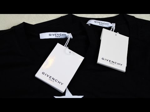 Real vs Fake Givenchy Tshirt Guide | Authentic vs Replica Givenchy