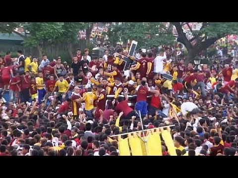 Φιλιππίνες: Νεκροί και τραυματίες κατά τη λιτανεία του Μαύρου Ναζωραίου
