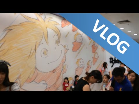 bbg - Very very special anime museum by Studio Ghibli was opening up when we were in Hong Kong so we had to check it out! Their anime films were basically our childhood....GOOD TIMES. Aside from...
