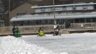 10. Arctic Cat Z1 Turbo drag race with another Z1T sno pro and F7 nitrous