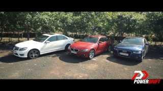 Audi A4 vs Mercedes-Benz C class vs BMW 3 series