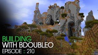 Minecraft :: Future Build Site :: Building with BdoubleO :: Episode 210