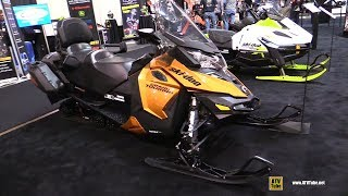 2. 2018 Ski Doo Grand Touring 900 Sled - Walkaround - 2017 Toronto Snowmobile ATV Show