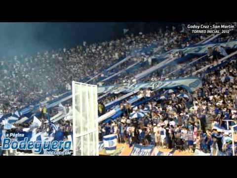 La Banda está de fiesta... (Torneo Inicial 2012 - Godoy Cruz vs. San Martín SJ) - La Banda del Expreso - Godoy Cruz