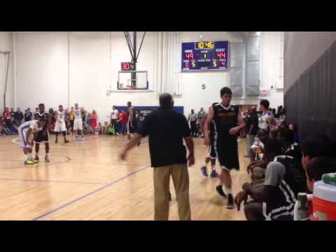 2013 EYBL Howard Pulley v Team United Tyus Jones and Reid Travis