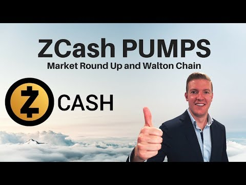 ZCash PUMPS on Bithumb News, WaltonChain Crushing It and Market Talk video