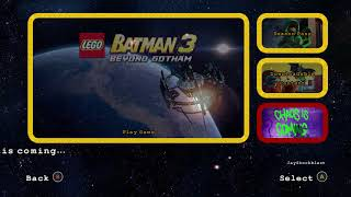LEGO Batman 3 Menu Updated and Chaos Is Coming!