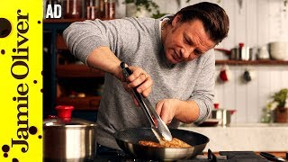 Golden Chicken with Minty Veg   Jamie Oliver - AD by Jamie Oliver