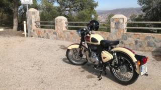 7. Royal Enfield 500 classic real review