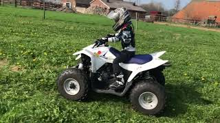 6. Jilles Suzuki Quadsport LT-Z90 and Yamaha PW50