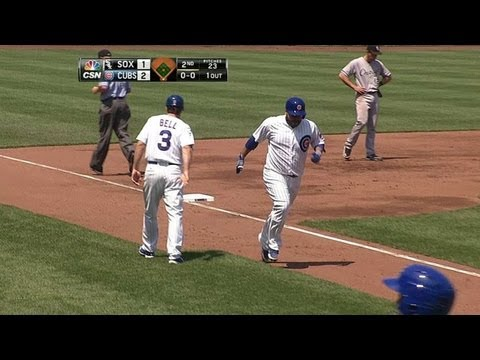 Video: CWS@CHC: Navarro goes yard with a solo shot