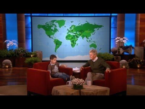 4åring är ett geografiskt geni