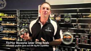 Reels Fin Nor Biscayne Lever Drag Reels [VIDEO]