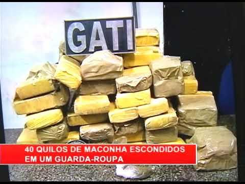 [RONDA GERAL] Polícia apreende 40 quilos de maconha na Bomba do Hemetério