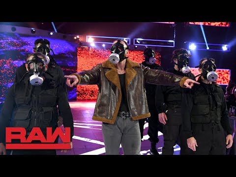 Dean Ambrose and his personal SWAT team subdue Seth Rollins: Raw, Dec. 3, 2018