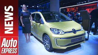 New 2020 Volkswagen e-up! - tiny electric city car gets big tech upgrade by Auto Express