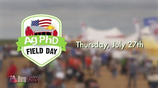 On this week's Farm Basics, Brian and Darren Hefty talk about the upcoming FREE Ag PhD Field Day, which is coming up Thursday, July 27th, near Baltic, South Dakota.