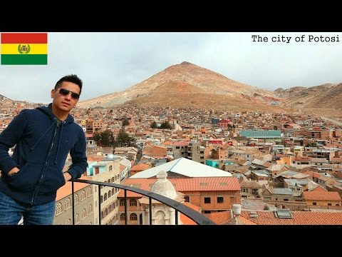 Travel to South America: The City of Potosi in Bolivia – Cerro Rico Mountain