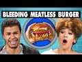 Download Video BLEEDING MEATLESS BURGER - Impossible Burger | College Kids Vs. Food