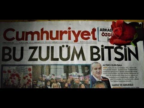 """Kritiker werden weggesperrt: Hohe Haftstrafen gegen Mitarbeiter von """"Cumhuriyet"""" verhängt"""