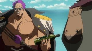 [One Piece] - Aokiji confronts Z - [1080p]
