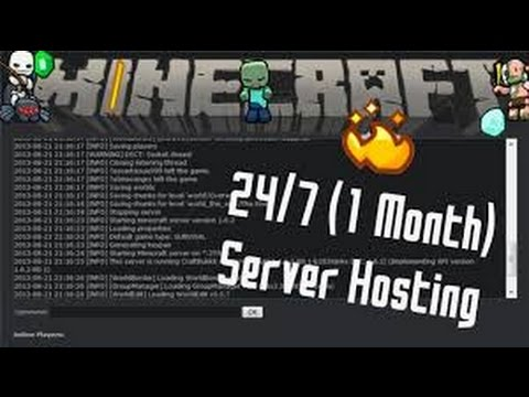 Free minecraft server Hosting 24/7 [NO PAY AND SURVEY]