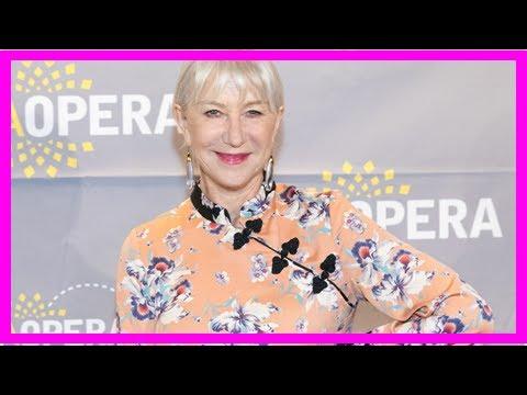 Helen Mirren Admits She Forgot Her Age:
