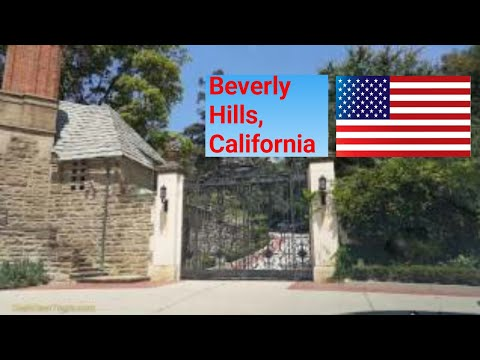 Los Angeles Driving Tour 2017: Beverly Hills