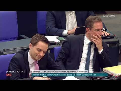 Bundestagsdebatte zum Verfassungsschutz des Bundes am ...