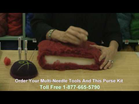 Felting Needles How To Tutorial.mpg
