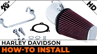 7. Air Intake Installation for Select 2008 to 2013 Harley Davidson models