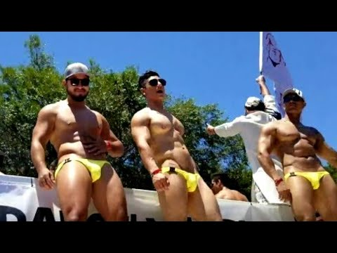 LA And West Hollywood Pride Parade 2018 With JC Moundiux