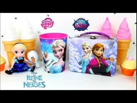La reine des neiges robe lunchbox my little pony rainbowdash LPS | frozen elsa lunchbox