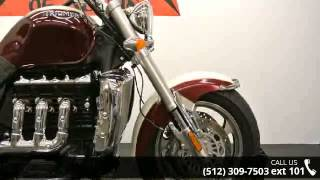 5. 2006 Triumph Rocket III Classic  - Dream Machines Indian ...