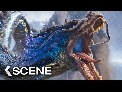The Dragon Appears Scene - THE IRON MASK (2020)