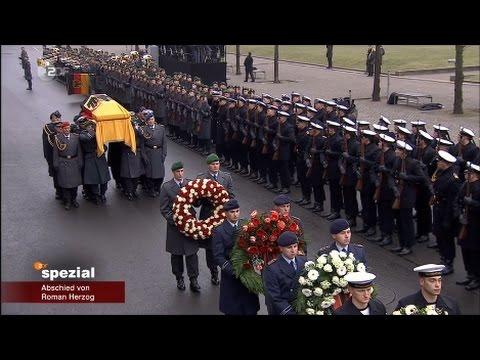 Abschied von Roman Herzog - Militärisches Abschiedszeremoniell