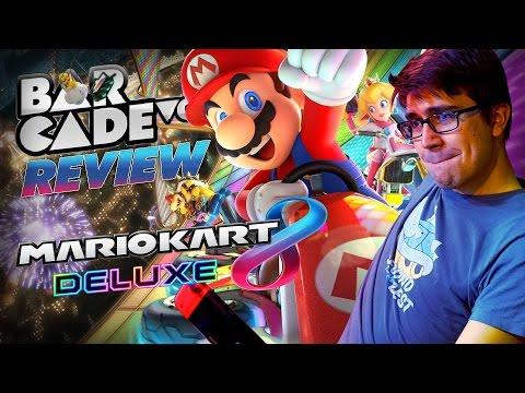 RESEÑA Mario Kart 8 Deluxe