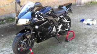 9. Suzuki SV650S K9 with MIVV GP Exhaust