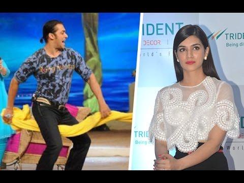 Kriti Sanon Confesses On Salman Khan's Towel Dance