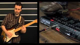 Boss ME-80 Guitar Multiple Effects Video