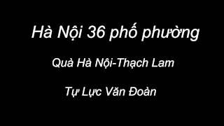 Hà Nội 36 Phố Phường-Quà Hà Nội-Thạch Lam
