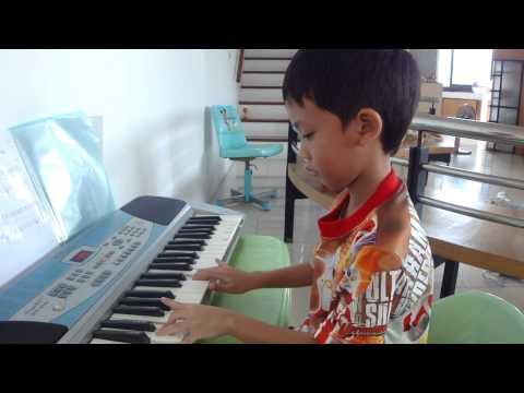 เพลงหนูมาลี-เปียโน