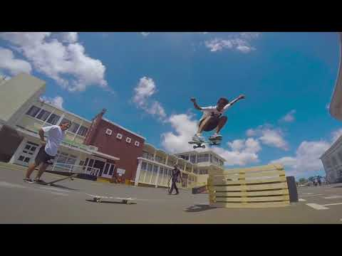 Skate jam at plaza Rose Hill Mauritius(50th Independence day)